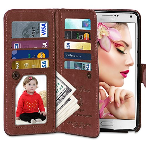 Galaxy Vofolen Leather Detachable Protective