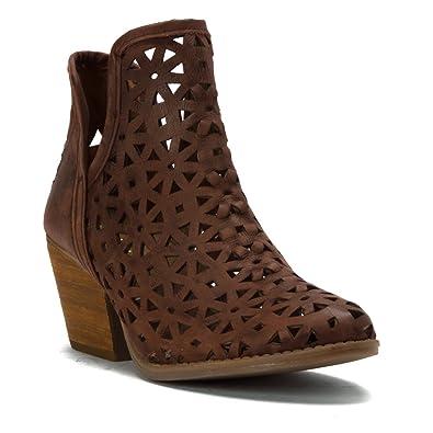 Musse & Cloud Athena Laser Cut Leather Boot ocazdBxQN