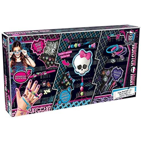 Canal Toys 6085 - Bijou et Cosmétique - Bijoux Terrifiants 3 En 1 - Monster High