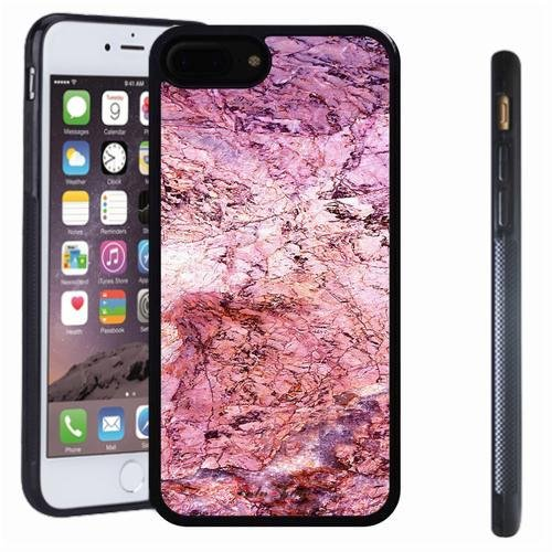 iphone 7 8 Plus case, SoloShow(R) Slim Shockproof TPU Soft Case Rubber Silicone for Apple iphone 7 8 Plus [Pink1] ()