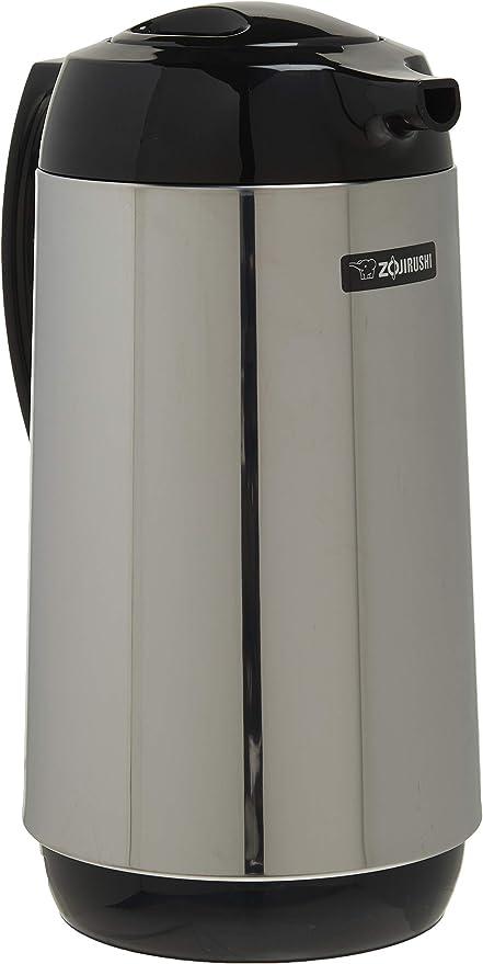 Zojirushi Thermal Serve Carafe Made in Japan Polished Stainless Steel 1.0 Liter