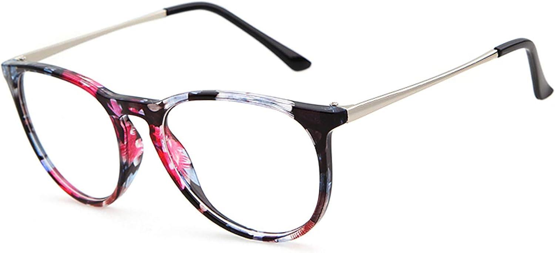Marco redondo vintage GIFIORE gafas de bloqueo de luz azul antirreflejo bloqueo de fatiga dolores de cabeza, gafas de tensión para mujeres y hombres