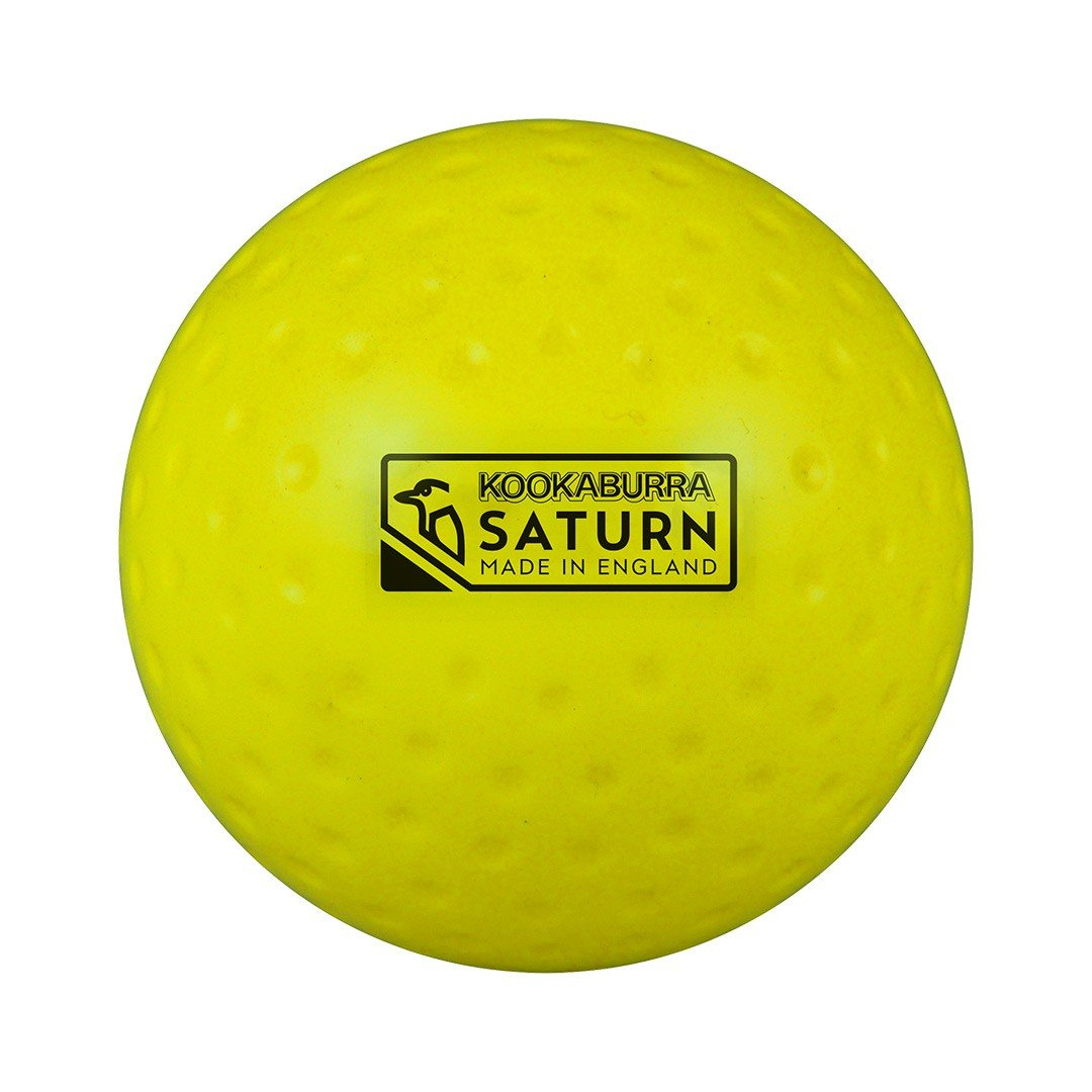 Kookaburra Dimple Saturn Hockey-Ball uni Orange
