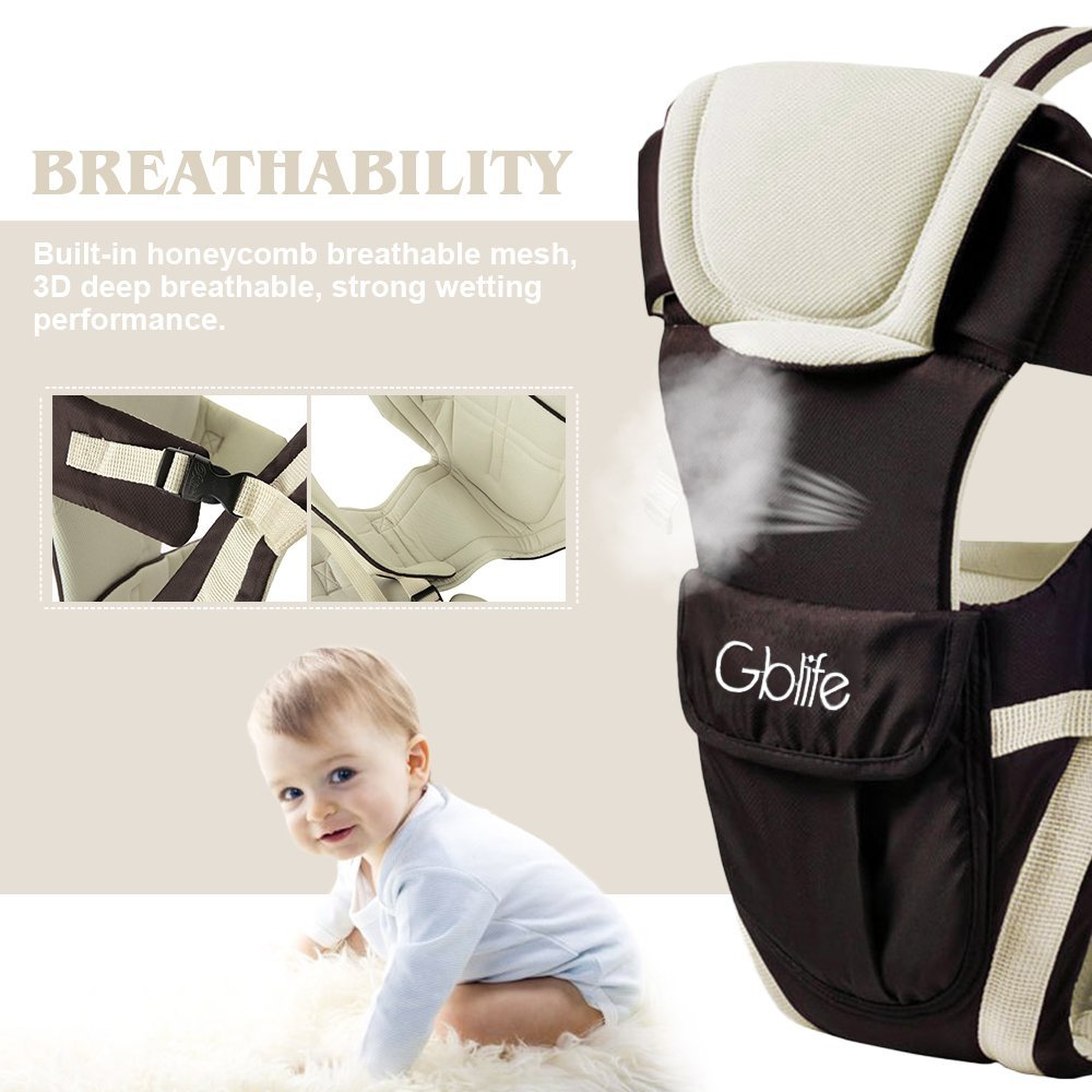 Mother & Kids Independent 2-48 Months Breathable Multifunctional Front Facing Baby Carrier Infant Comfortable Sling Backpack Pouch Wrap Baby Kangaroo
