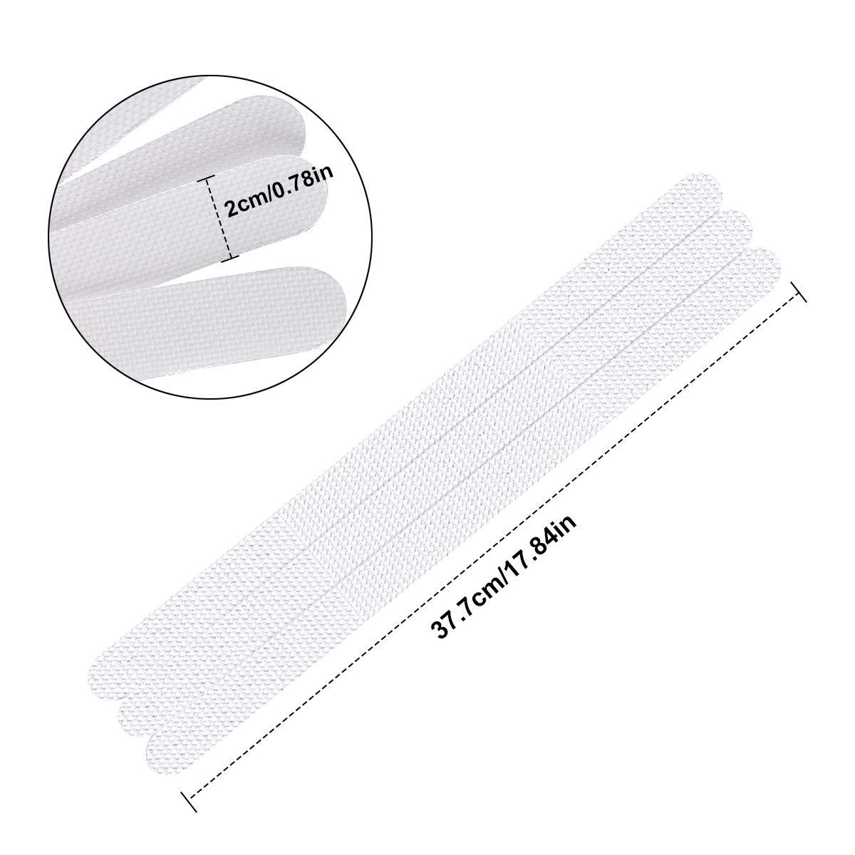 Adesivi Antiscivolo per Doccia Trasparente Adesivi Antiscivolo per Vasca con Raschietto 2 38 cm Dokpav 18 Pezzi Adesivi Antiscivolo