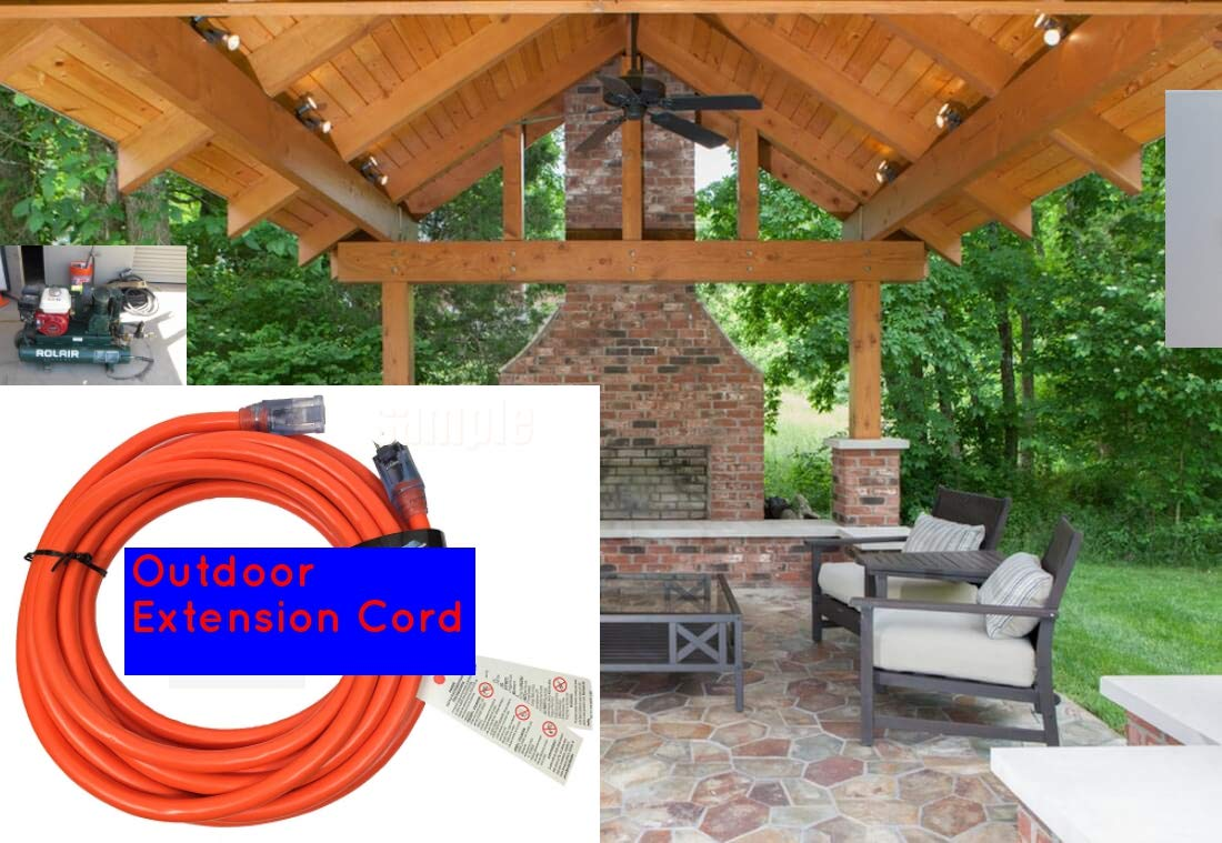 10 GAUGE H//DUTY EXTENSION CORD by Century Wire 100FT