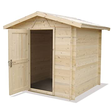 gartenhaus ger tehaus ger teschuppen holz blockhaus. Black Bedroom Furniture Sets. Home Design Ideas