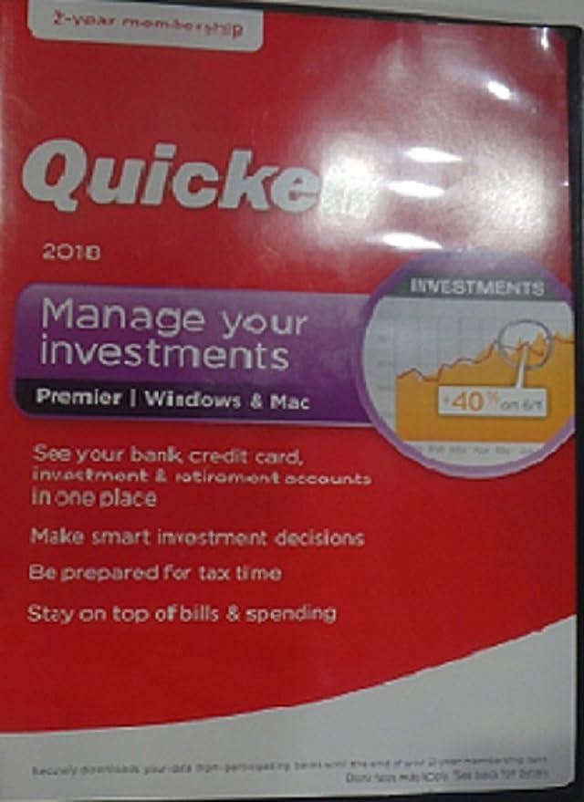 Quicken deluxe 2 year membership