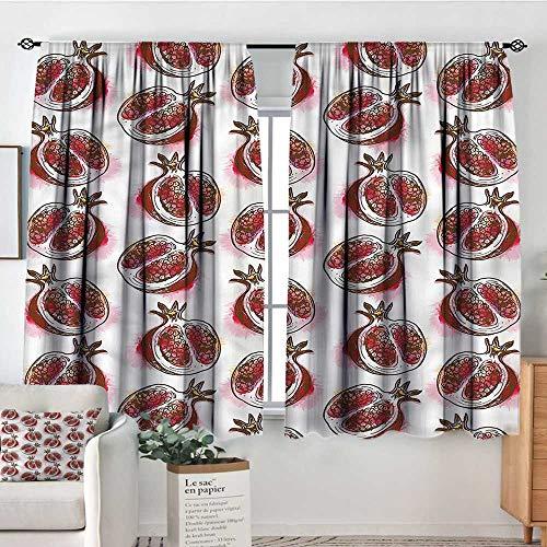 108 Pomegranate - RenteriaDecor Fruits,Nursery/Baby Care Curtains Flowering Pomegranate 104