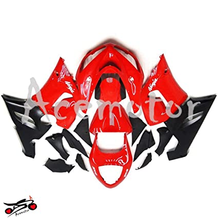 Amazon.com: AceMotor Motorcycle Fairing Kit for kawasaki ...