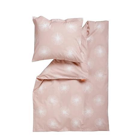 70x100 // 40x45 in rosa//Soft Pink Leander Baby-Bettw/äsche aus Baumwolle Flora