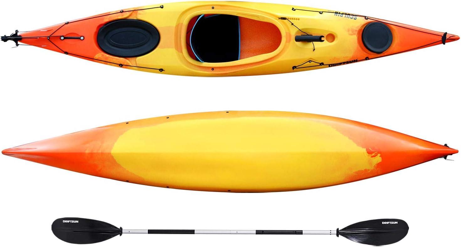best touring kayak: Driftsun Sculpin Rotomolded Sit-in Kayak 12.5ft