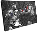 Bold Bloc Design - Cody Garbrandt UFC MMA Grunge Sports 90x60cm SINGLE Canvas Art Print Box Framed Picture Wall Hanging - Hand Made In The UK - Framed And Ready To Hang