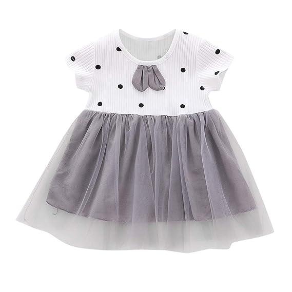 Princess Infant Baby Girls Dress Pleated Dress Long Sleeve Solid Lace Patchwork Tutu Mini Dance Dress 8 Colours