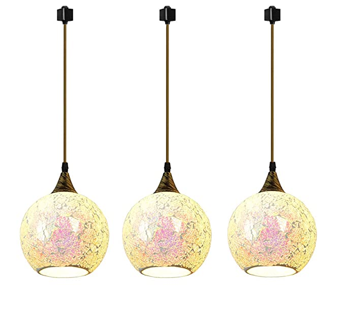 Kiven Lámpara colgante de cristal de tipo H, lámpara ...