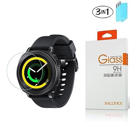 Amazon.com: [3-Pack] Samsung Gear Sport Smartwatch Screen ...