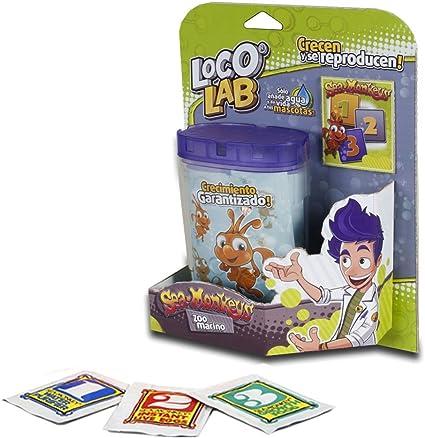 Loco Lab LL0015 - Giro Sea Monkeys Zoo Marino Juego Educativo De Biología (Big Time): Amazon.es: Juguetes y juegos