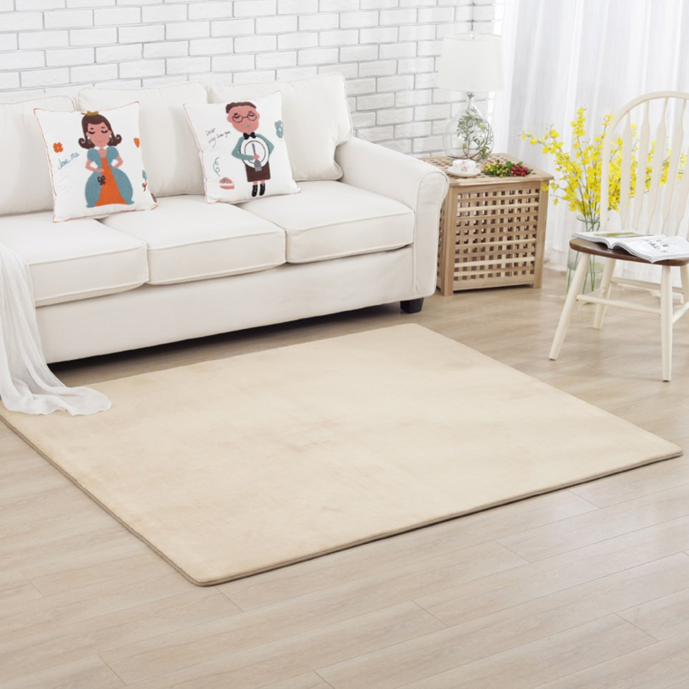 Fashion simple carpet The crawling child blanket Simple bed blanket Bedroom living room carpet-G 140x200cm(55x79inch)