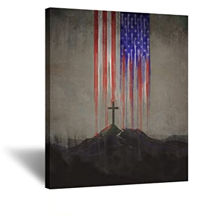 Amazon.com: Kreative Arts Modern Canvas Prints Wall Art Christian ...
