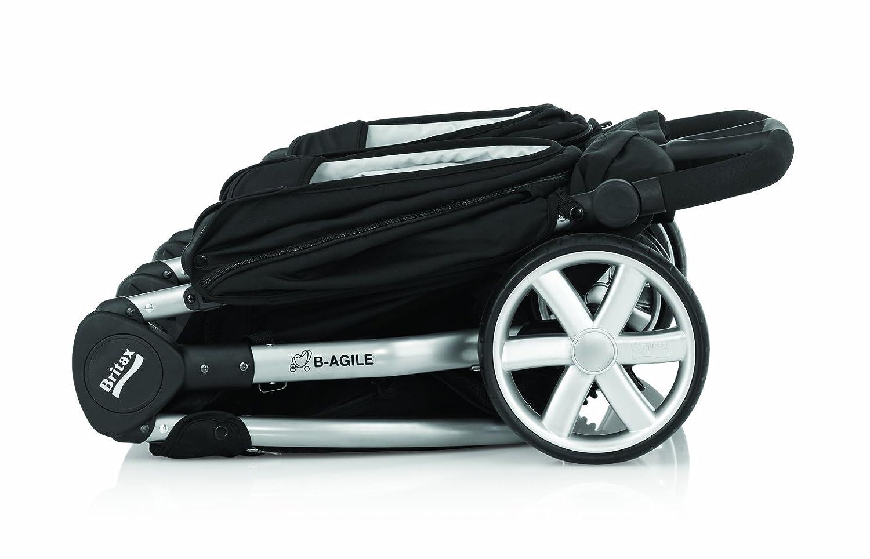 Britax 2000007157 - Silla de paseo gemelar, color negro