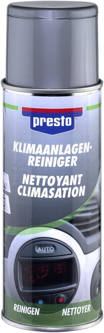 Presto 215995 Desinfectante/purificador Aire Acondicionado: Amazon.es: Coche y moto