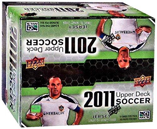 2011 Upper Deck Soccer Retail (36 - Card Deck Upper Soccer Women