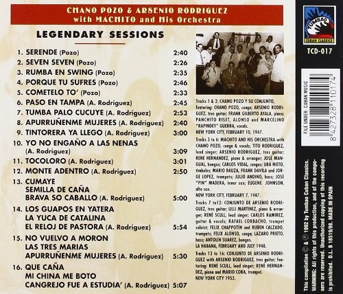 Legendary Sessions 1947-1953