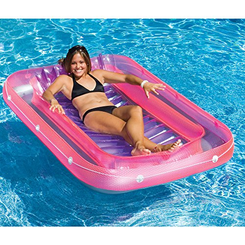 Tan Dazzler Inflatable Swimming Pool Lounge Float