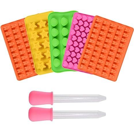 Amazon.com: Moldes de silicona para chocolate, moldes de ...