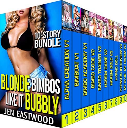 Blonde Bimbos Like It Bubbly: 10-Story Erotic MC Bundle]()