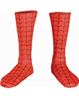Disguise Men's Marvel Spider-Man Adult Boot Covers Costume Accessory