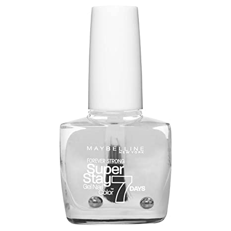 Buy Maybelline New York Nail Polish, 25 Crystal Clear, 10ml Online ...