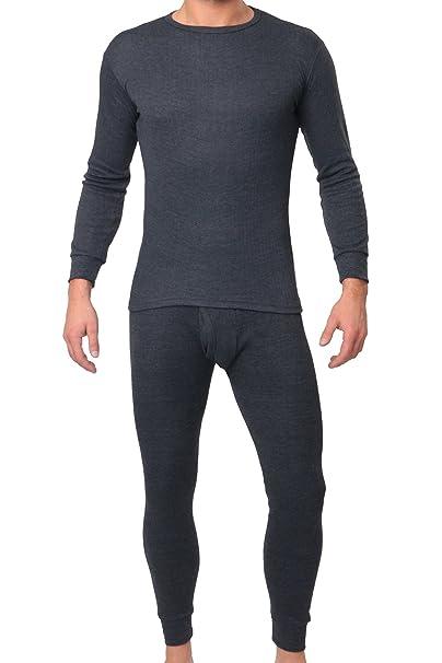 MT® térmica Light Hombre Térmica Juego de Ropa (Camisa + Pantalones) – Cálida