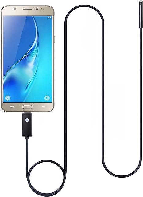 BeneStellar Cámara de Inspección Endoscopio USB para Smartphone 2 ...