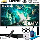 Samsung UN49RU8000 49' RU8000 LED Smart 4K UHD TV (2019) w/Soundbar Bundle Includes, Deco Gear Home Theater Surround Sound 31' Soundbar, Screen Cleaner, 2X HDMI Cable and 6-Outlet Surge Adapter
