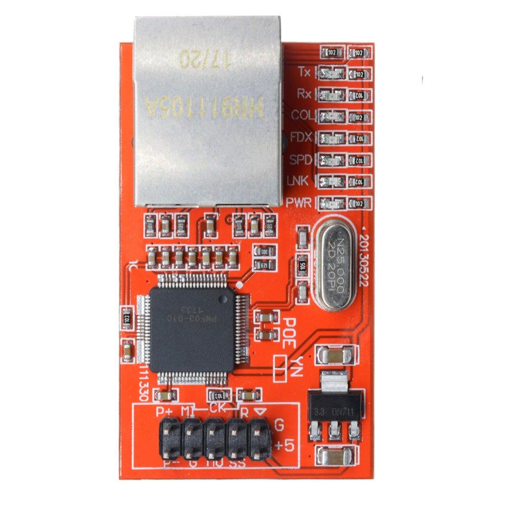 diymore Mini W5100 LAN Ethernet Shield Network Board Module for Arduino Ethernet UNO Mega 2560