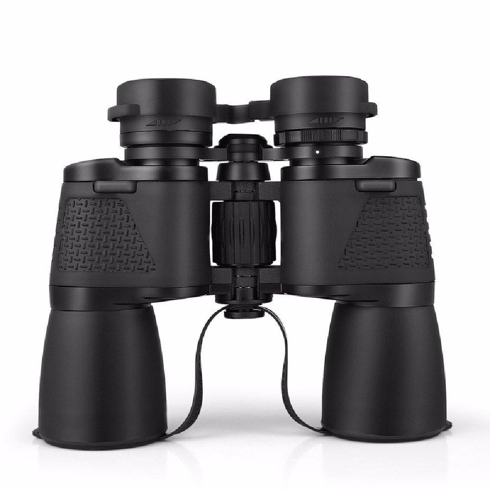 KHSKX 12 x 50双眼鏡、ハイパワー高精細暗視望遠鏡、非赤外線1000倍望遠鏡   B06XXGGD9K