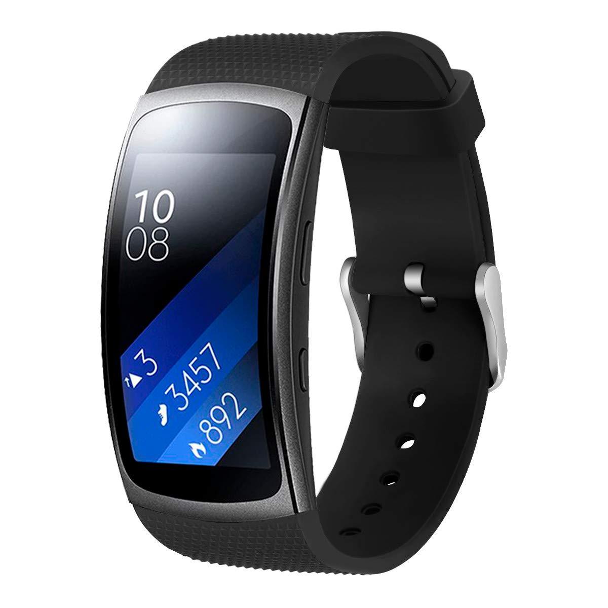 Pulsera Watch para Hombre y Mujer Silicona Brazalete Suave Strap Reloj de Poroso Wristbands Deportiva Bandas de Reemplazo Cadena: Amazon.es: Relojes