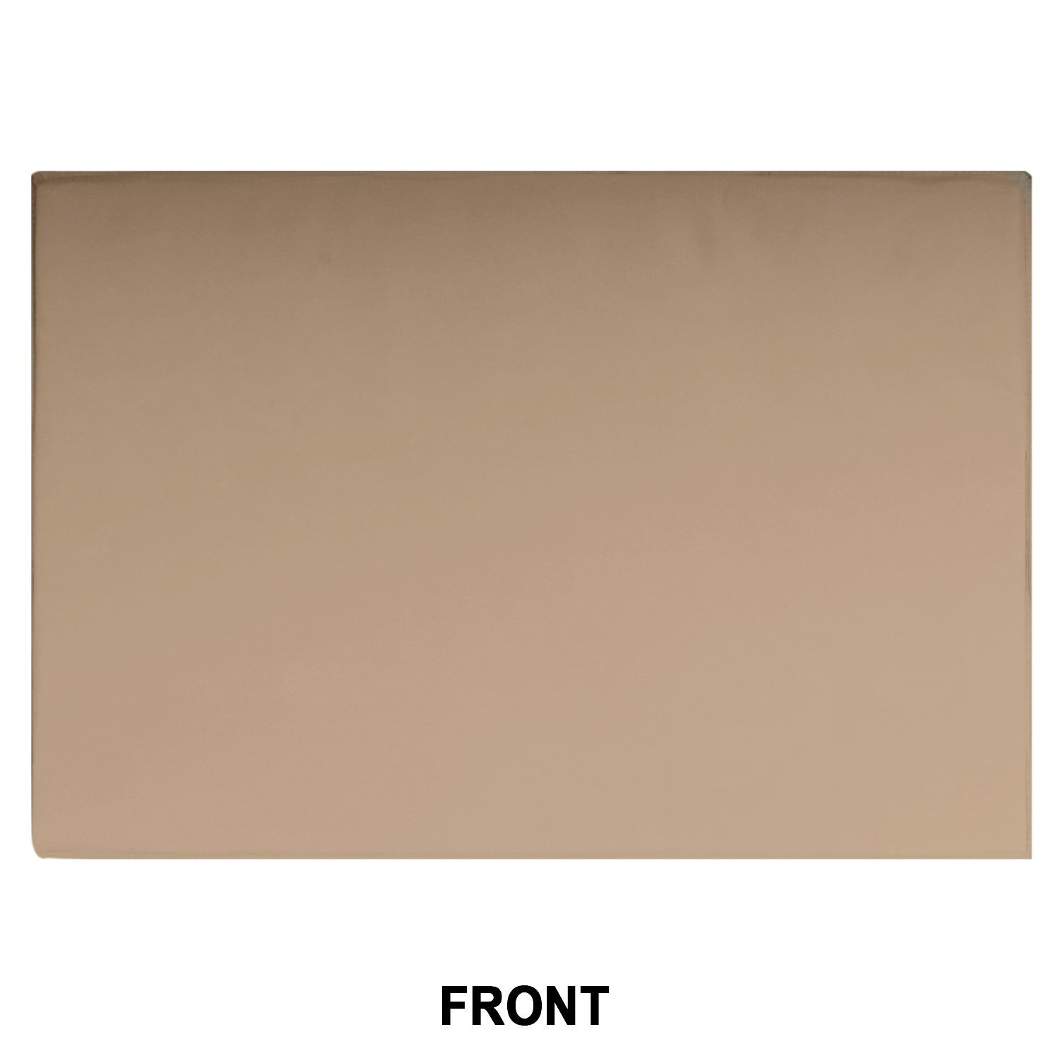Outdoor TV Cover, Brown Universal Weatherproof Protector for 50'' - 52'' TV - Fits Most Mounts & Brackets by KHOMO GEAR (Image #4)