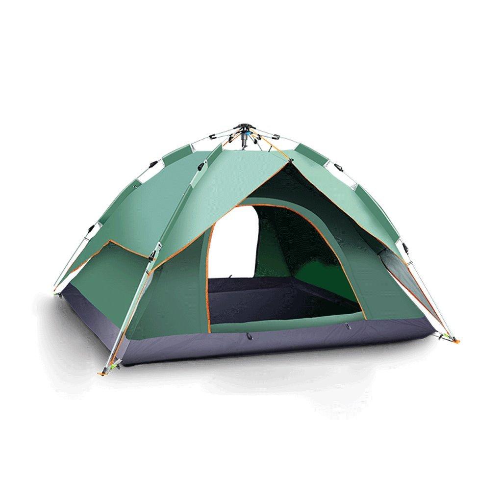 TLMY Explorer Automatische Zelte Outdoor Camping Camping Zelte (Farbe : Grün)
