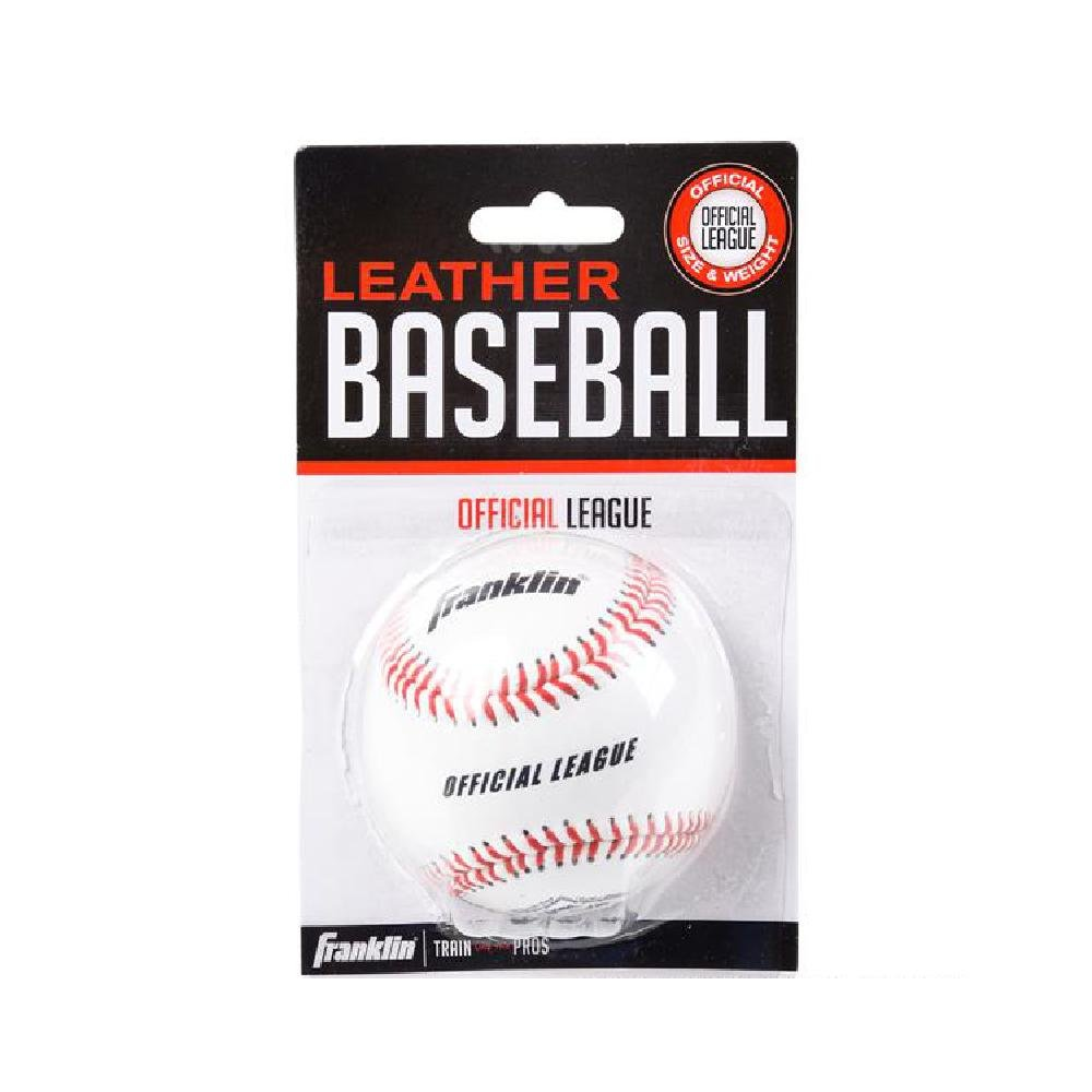 Franklin Official League Leather Baseball by Bargain World