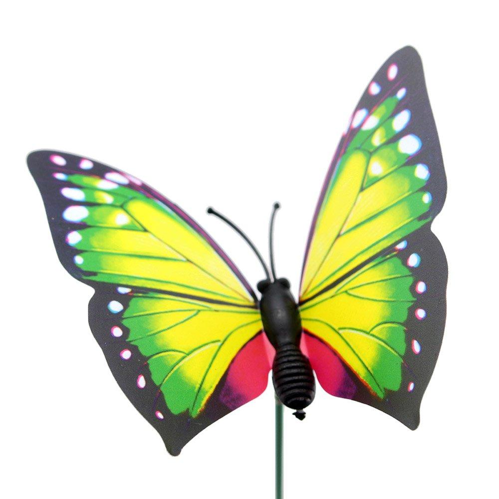 Amazon.com: Topix Butterfly Garden Ornaments & Patio Decor Butterfly ...