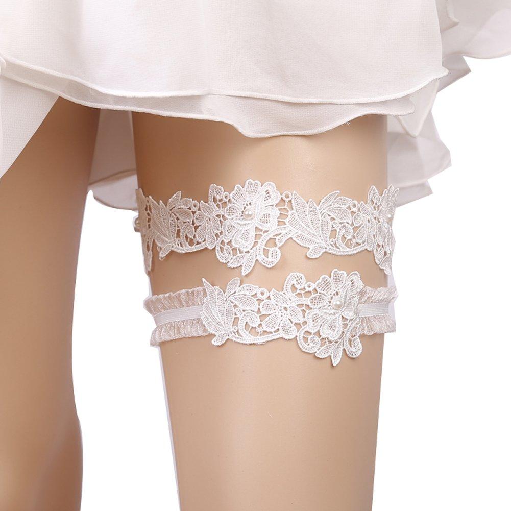 Finaze Wedding Lace Garter for Bridal (MD0007) by Finaze (Image #1)