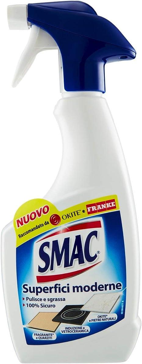 Smac Sgrassatore Spray Per Superfici Moderne E Delicate Detergente Per Casa E Cucina 500ml Amazon It Salute E Cura Della Persona