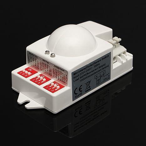 Calli T-9800 5.8GHz 220v / 240v interruptor del sensor de radar detector de