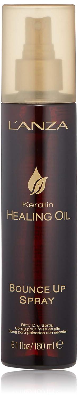 Amazon.com: LANZA Keratin Healing Oil Spray, Bounce Up, 6.1 oz.: Luxury Beauty
