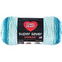Red Heart Super Saver Ombre Yarn 10 oz Scuba