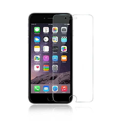 iPhone 7 Screen Protector, Premium Quality Tempered Glass Screen Protector Ultra Thin 0.3mm High Definition BubbleFree
