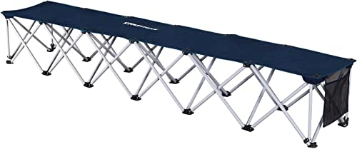 Fastraxx 6-Person Foldeable Sports Bench