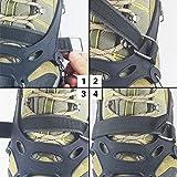 YUEDGE Universal Anti Slip Ice Cleats Shoe Boot